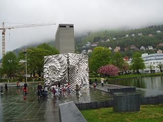 Baard Breivik exhibit in Bergen