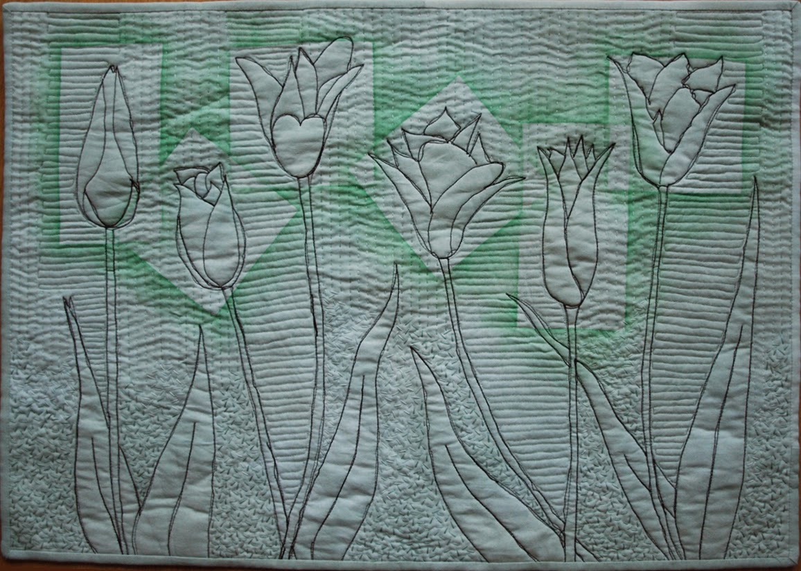 Tulips in Green