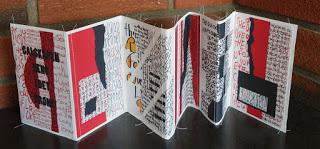 Textile Zig-Zag-book